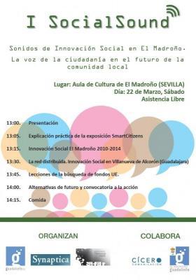Cartel de I Social Sound (fuente: http://www.synaptica.es)